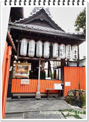 繁昌神社の本殿前