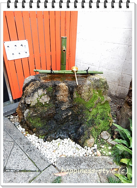 繁昌神社内の手水場