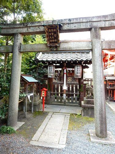 京都熊野神社の摂社末社の春日社