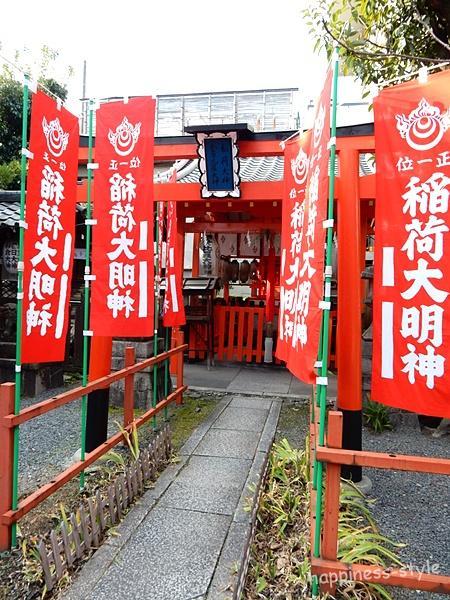 京都熊野神社の摂社末社・稲荷社