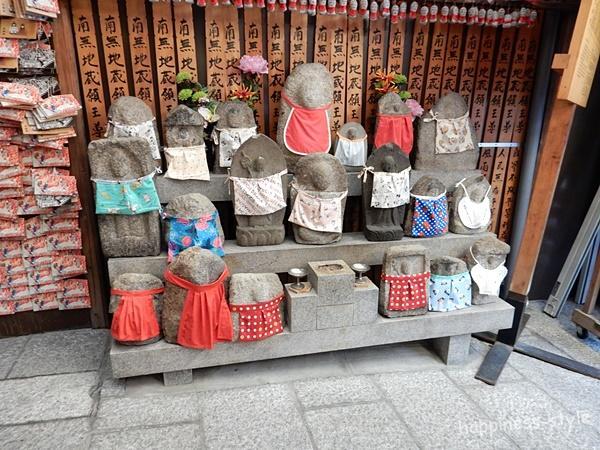 京都・矢田寺のたくさんのお地蔵様