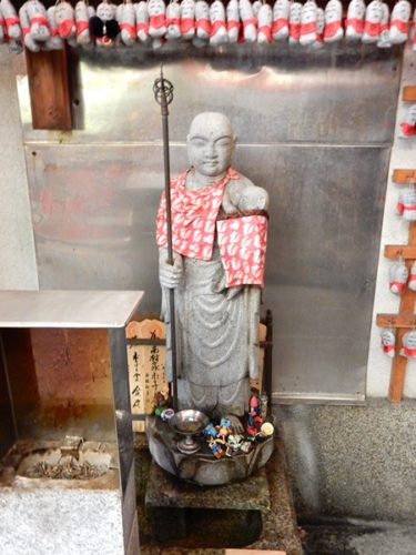 京都・矢田寺のお地蔵様